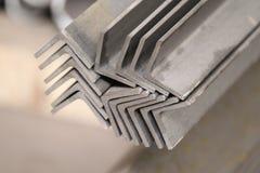 De profielenhoek van het metaal Stock Fotografie