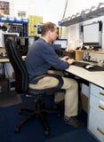 De programmeur van de computer Royalty-vrije Stock Foto