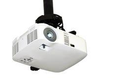 De projector van het plafond die op wit wordt geïsoleerdn Stock Fotografie