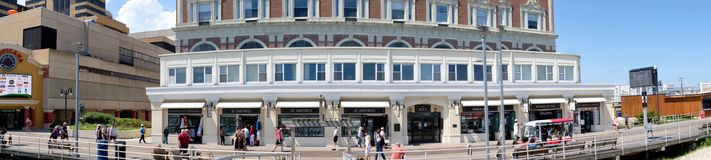 De Promenade Ritz Hotel Condominiums van Atlantic City stock foto