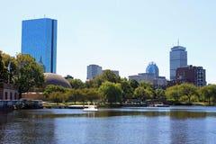 De Promenade van Boston Stock Foto