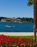 De promenade van de kust royalty-vrije stock afbeelding