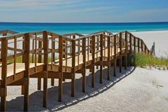 De Promenade van het strand Royalty-vrije Stock Foto's