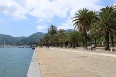 De promenade van La Spezia Stock Afbeeldingen