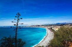 De promenade van Nice Stock Afbeelding