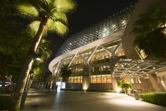 De Promenade van Singapore Stock Foto's