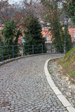 De Promenade van Strossmayer, Zagreb, Kroatië Royalty-vrije Stock Foto