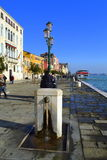 De promenade van Venetië Stock Foto's