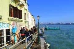 De promenade van Venetië Stock Fotografie
