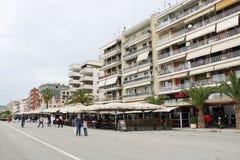De promenade van de Voloswaterkant royalty-vrije stock foto's