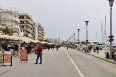 De promenade van de Voloswaterkant royalty-vrije stock afbeeldingen