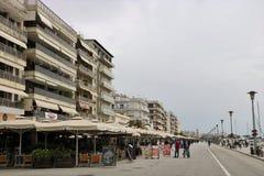 De promenade van de Voloswaterkant royalty-vrije stock fotografie