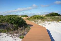 De Promenade van zandduinen Royalty-vrije Stock Fotografie