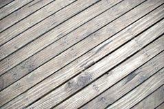De promenadeachtergrond van de houtplank Stock Fotografie