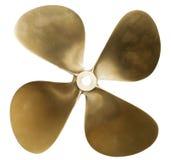 De propeller van de boot Stock Afbeeldingen