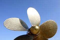 De propeller van de schroef Royalty-vrije Stock Afbeeldingen