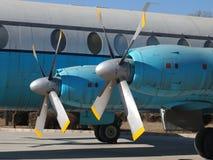 De Propeller van het vliegtuig Royalty-vrije Stock Afbeeldingen