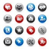 De ProReeks van het Gel van Internet & van Blog // vector illustratie