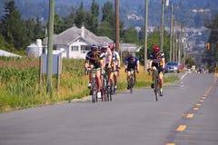 De Prospera do vale de Gran Fondo raça 2015 de ciclismo Foto de Stock Royalty Free