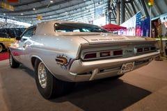 De Prostraat van Dodge Eiser van de spierauto, 1970 Royalty-vrije Stock Afbeeldingen