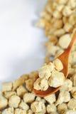 De Proteïne van de soja royalty-vrije stock afbeeldingen