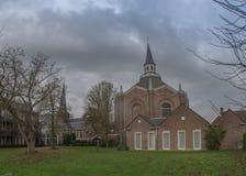 De protestantse kerk in haaksbergen Stock Foto's