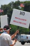 De Protesteerder van de belasting Stock Foto