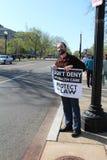 De Protesten van de gezondheidszorg Royalty-vrije Stock Afbeeldingen