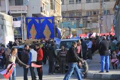 De Protesten van Egypte Royalty-vrije Stock Foto's