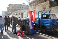 De Protesten van Egypte Stock Foto