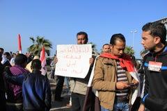 De Protesten van Egypte \ 's Stock Afbeeldingen