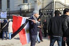 De Protesten van Egypte \ 's Royalty-vrije Stock Afbeelding