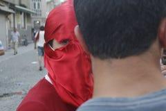De Protesten van Istanboel Taksim Royalty-vrije Stock Foto