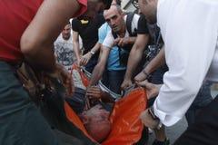 De Protesten van Istanboel Taksim Stock Foto