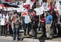 De Protesten van Syrië Stock Afbeeldingen