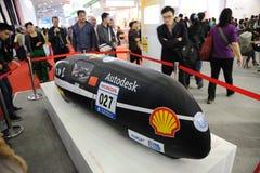 De prototypeauto van Universiteit Tongji van China Stock Foto's