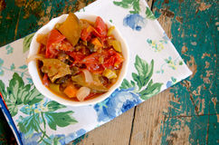 De Provence des Gemüses Stew Lizenzfreies Stockbild