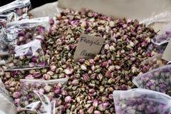 De Provence nam knoppen toe Royalty-vrije Stock Foto