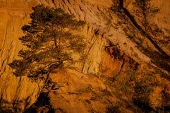 De Provence, Rustrel, provencal Colorado, Frankrijk stock fotografie
