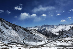 De Provincie Balang van China Sichuan Royalty-vrije Stock Fotografie