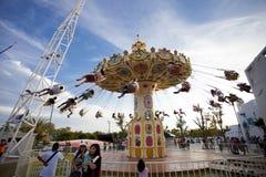 DE PROVINCIE 05 MEI, 2013 VAN THAILAND CHA-AM PETCHBURI: Velen Gelukkig p Stock Foto