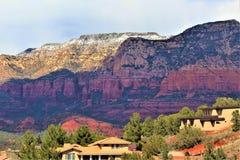 De Provincie van Maricopa van het landschapslandschap, Sedona, Arizona, Verenigde Staten stock foto
