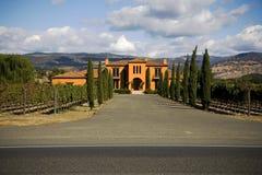 De Provincie van Napa, CA het Huis van de Douane Royalty-vrije Stock Foto's
