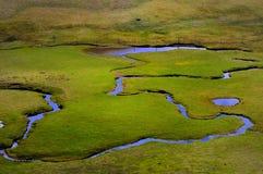 De provincie van Yunnan van China, het plateau   Stock Foto