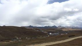 De provinciedorp van Sichuan timelapse stock footage