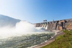 Waterkrachtcentrale stock foto