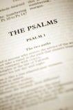 De psalmen royalty-vrije stock afbeelding