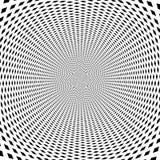 De psychedelische optische achtergrond van de rotatieillusie stock fotografie
