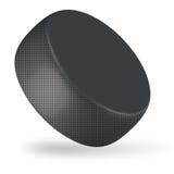 De puck van het hockey Stock Foto's