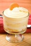 De Pudding van de banaan Stock Foto's